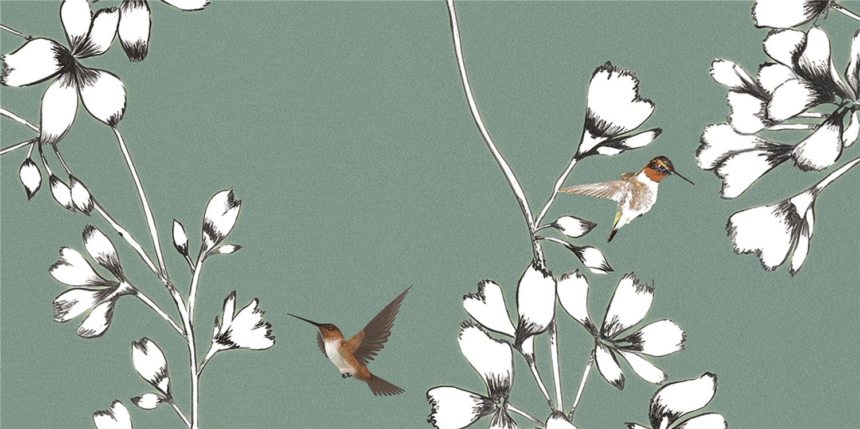 YHTD36063W鸟语花香