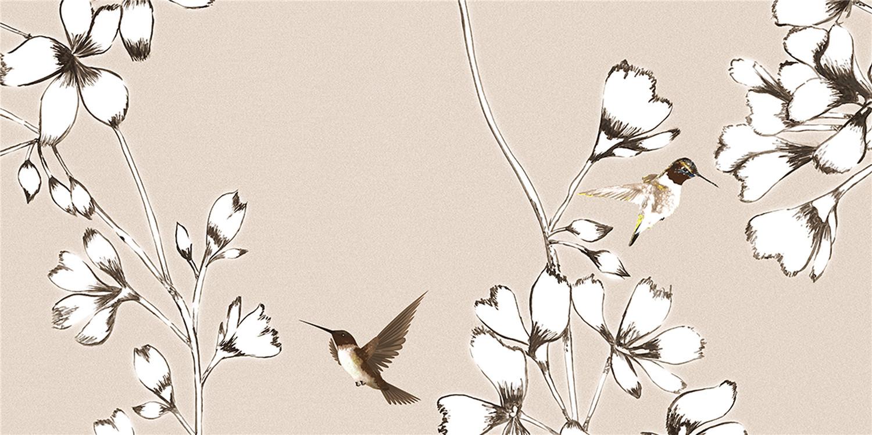 YHTD36065W鸟语花香