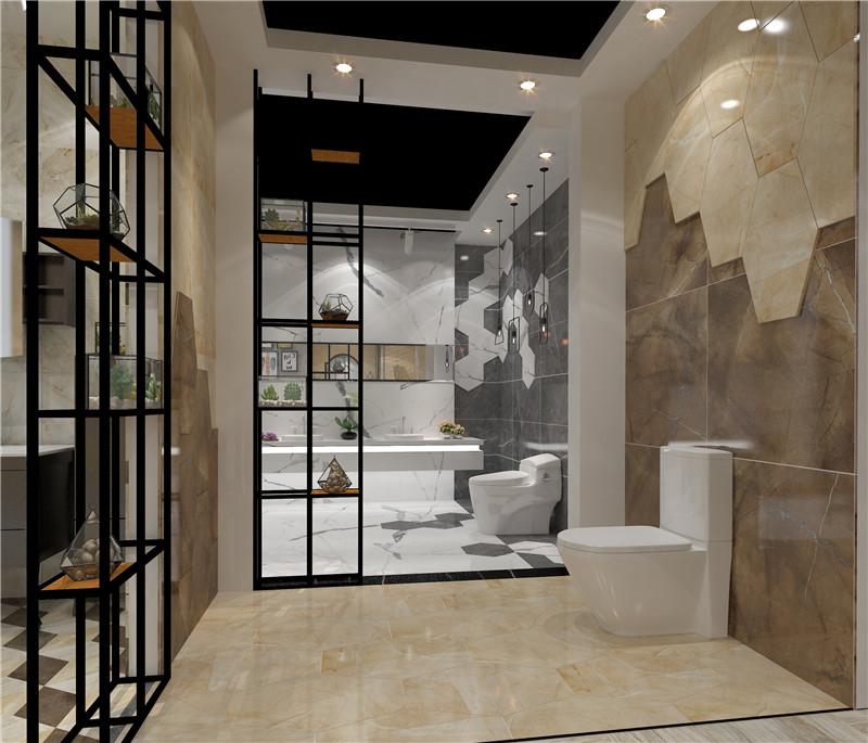 Shenghua ceramic bathroom space decoration model 2