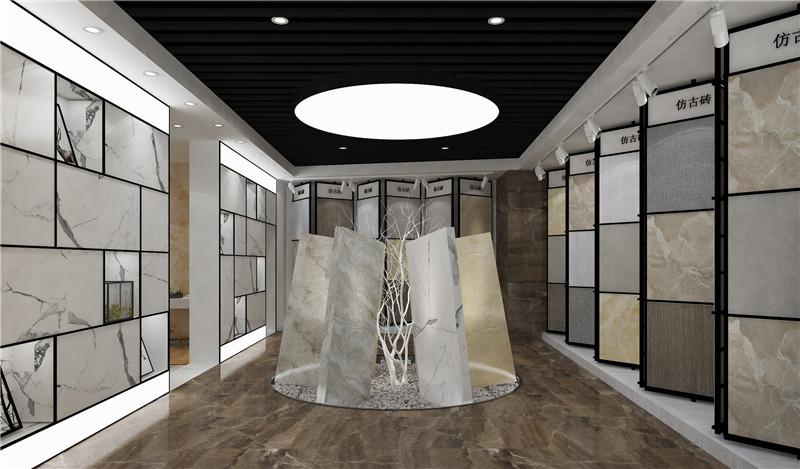 Shenghua ceramic specialty store interior decoration