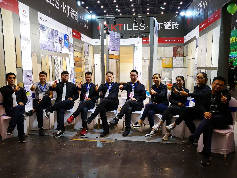 KT瓷砖实力出击郑州安团家博会,再一次,我们创造辉煌!
