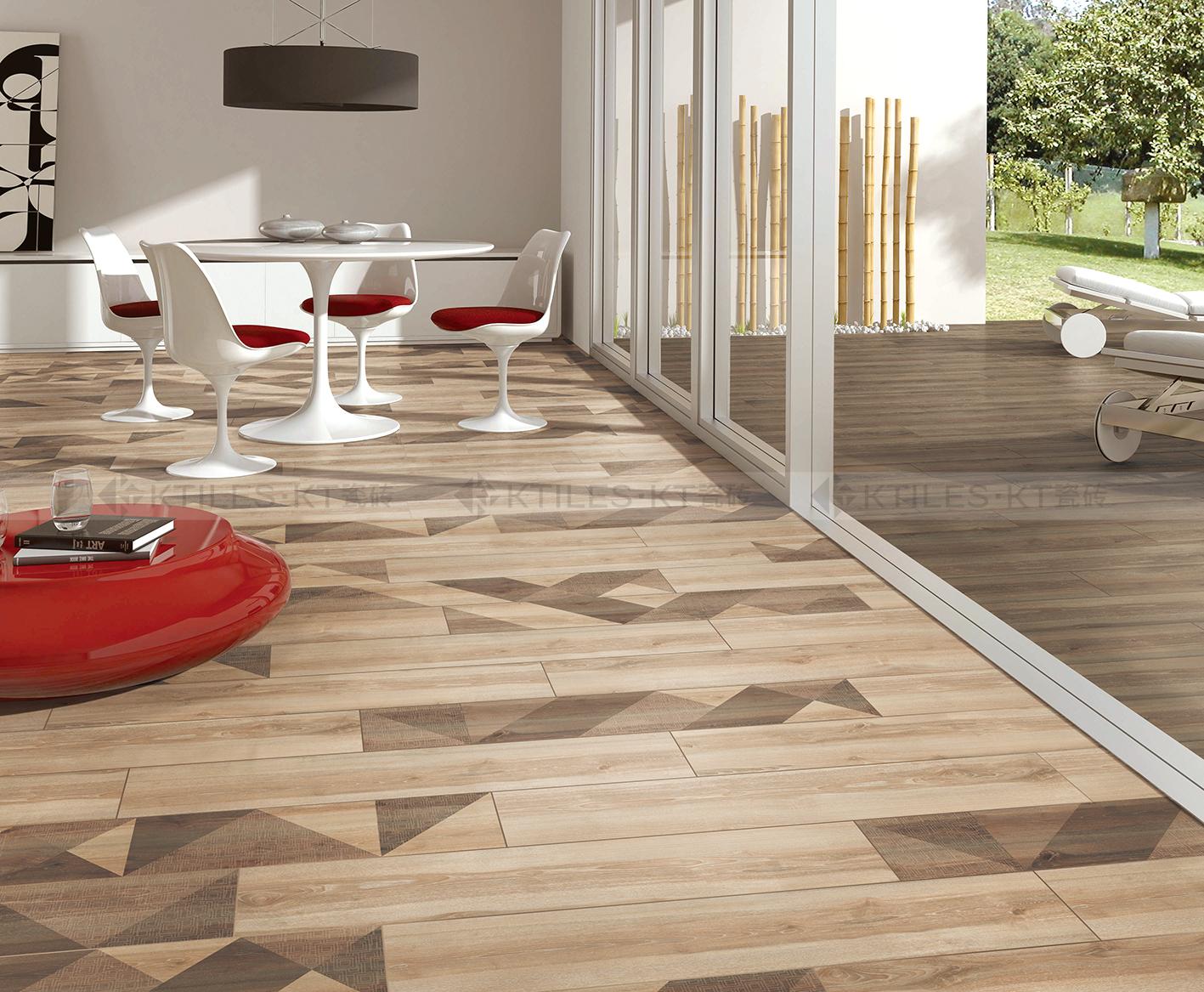 这是我们为什么专注做木纹砖的原因!