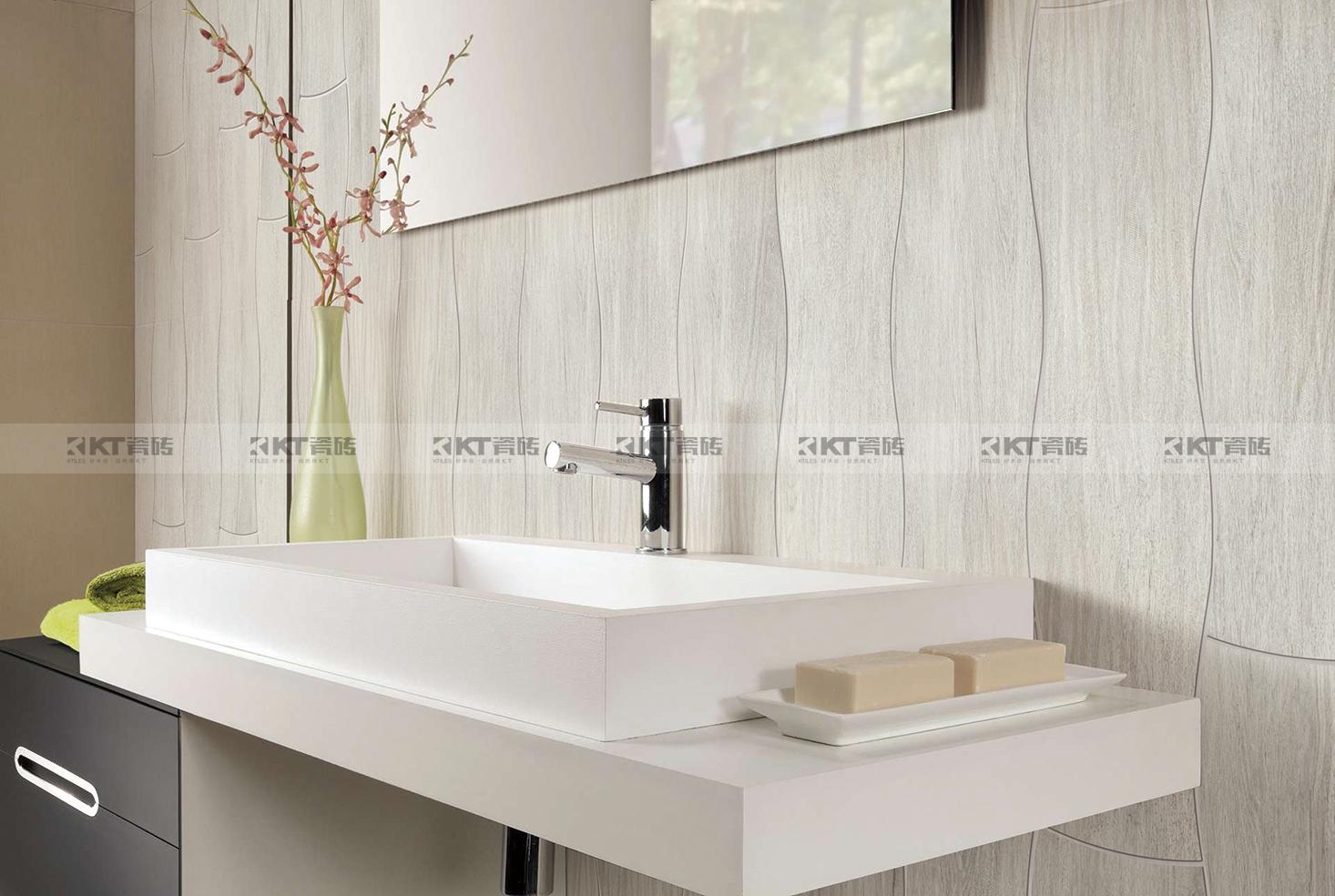 好看的设计+有趣的灵魂,内外兼修的200x800mm波浪形木纹砖!