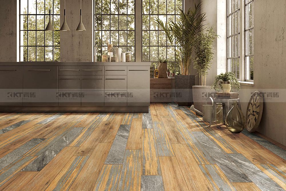 设计师都喜欢把600x1200mm规格木纹砖用在这里!