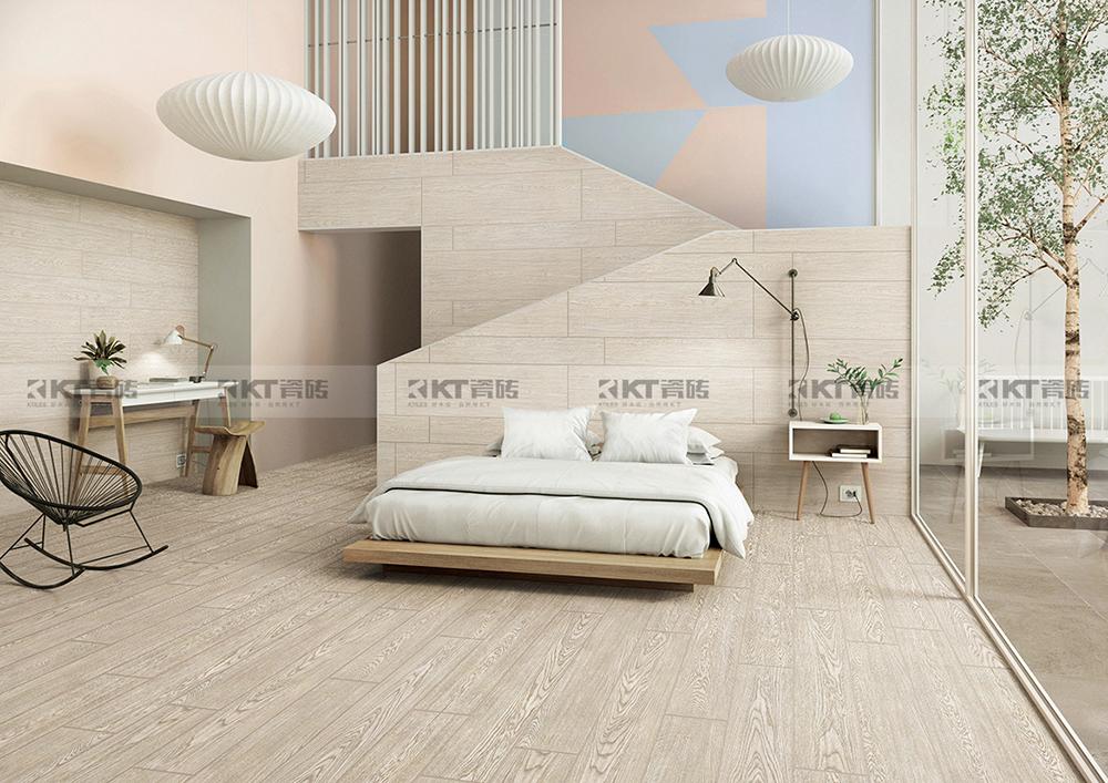 卧室为什么要选择木纹砖?