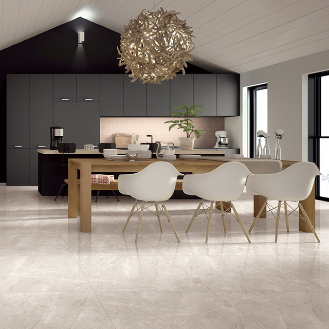 用了现代仿古砖,空间更漂亮!