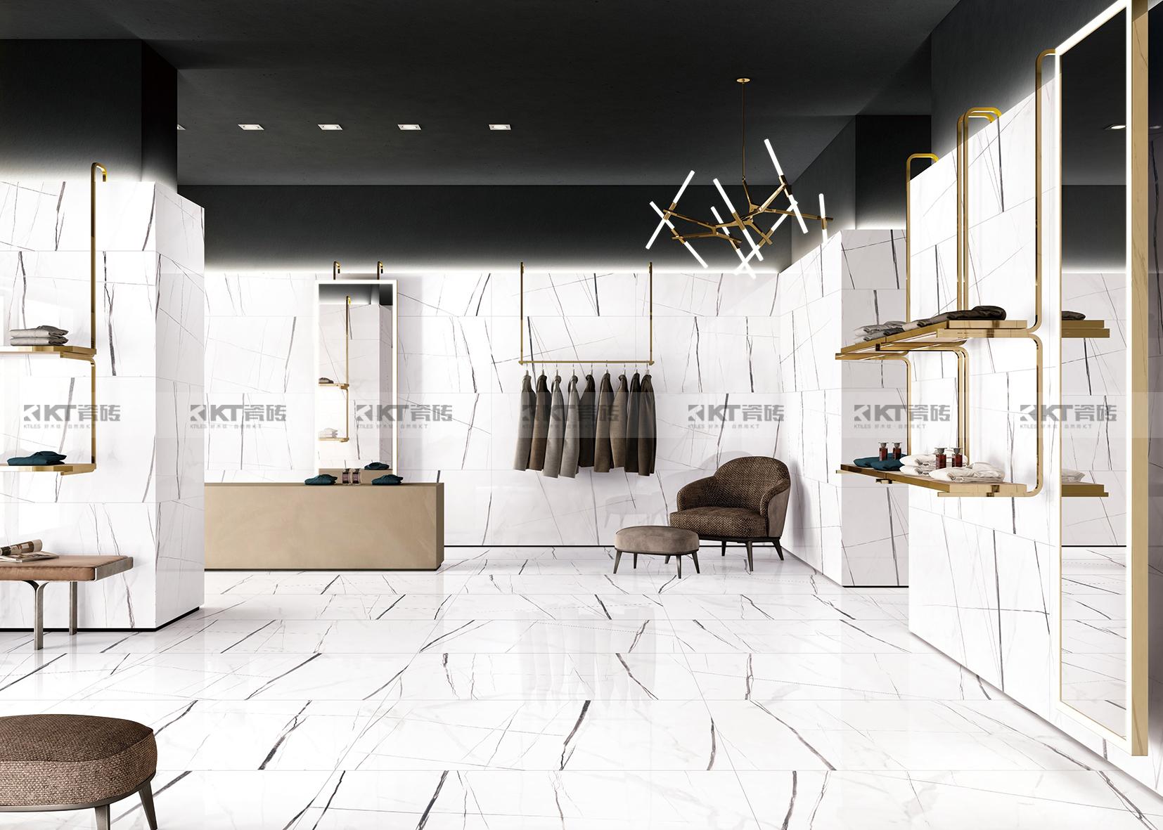 白色调的瓷砖,纯粹简约生活态度!