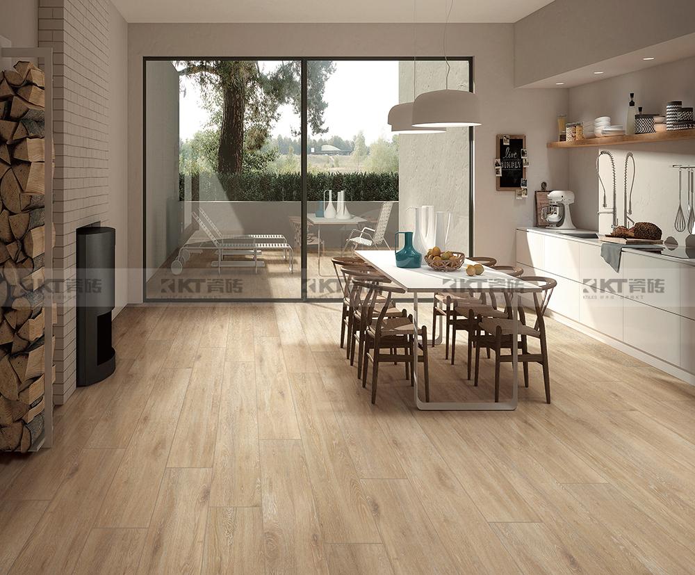 十套关于木纹砖餐厅的设计方案,收好不谢!