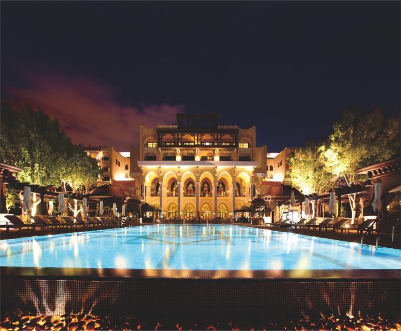 拉萨香格里拉大酒店家用燃气壁挂炉应用案例效果