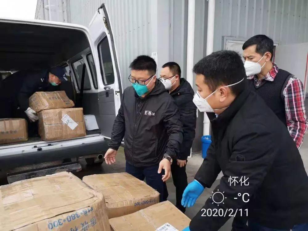 羽顺董事长陈群参与抗击疫情一线家用燃气壁挂炉应用案例效果