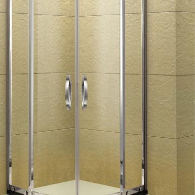 兩固兩門移扇形淋浴房