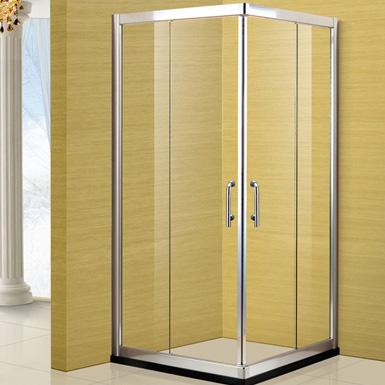 兩固一開方形淋浴房