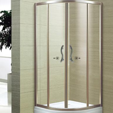 兩固兩活扇形淋浴房