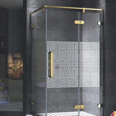 兩固一活方形淋浴房