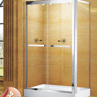 一固兩活方形淋浴房