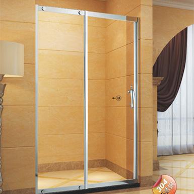一固一動屏風淋浴房