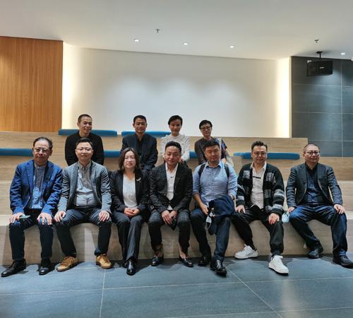 托托贝尼 | 热烈欢迎中国建筑装饰协会领导及行业专家莅临参观