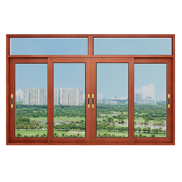 100系列推拉窗窗纱一体