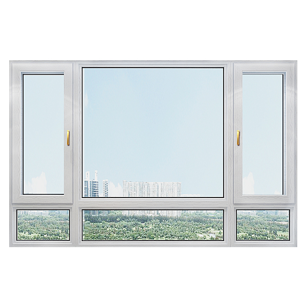 115系列断桥平开窗窗纱一体