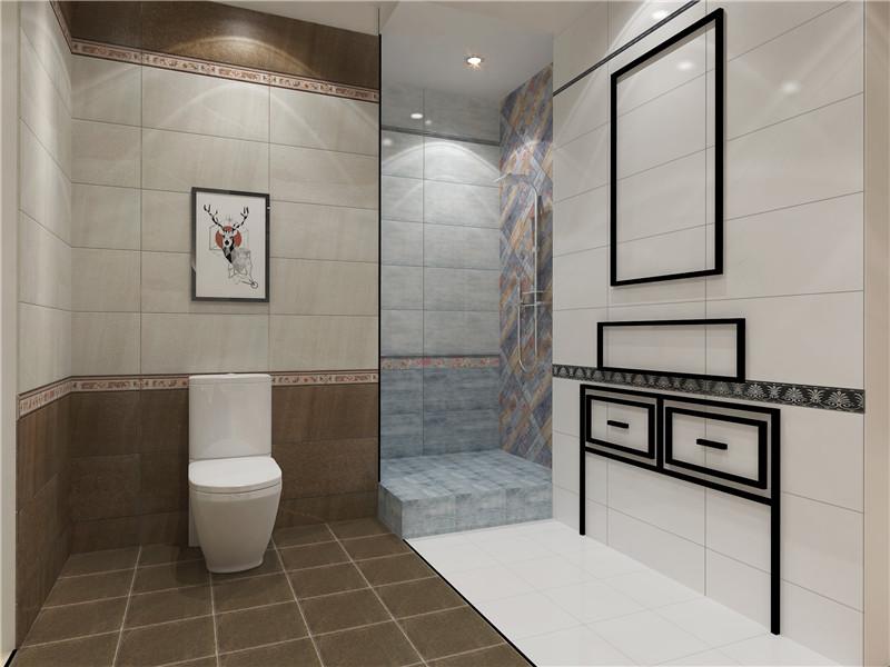 升华陶瓷卫浴空间装修样板2