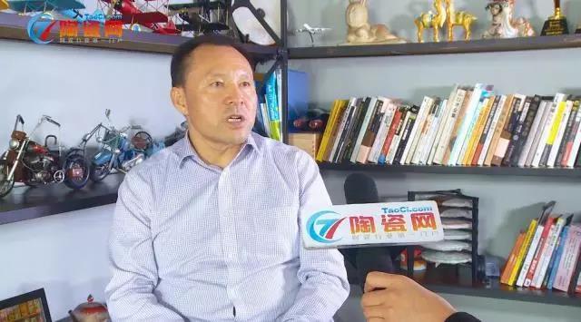 酒泉升华陶瓷旗舰店董事长潘发春专访