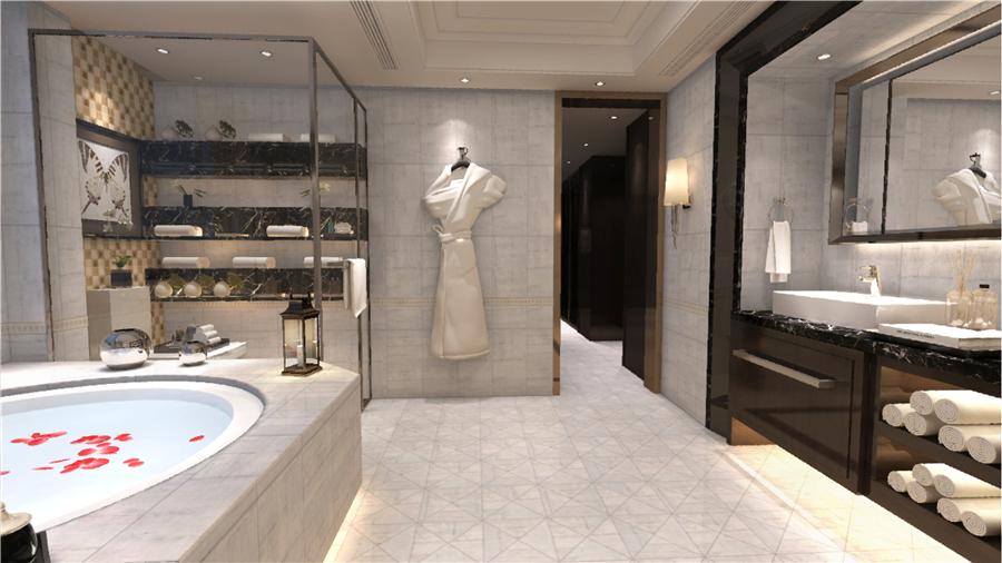 升华陶瓷新品瓷片|雅致灰,打造质感的卫浴空间!