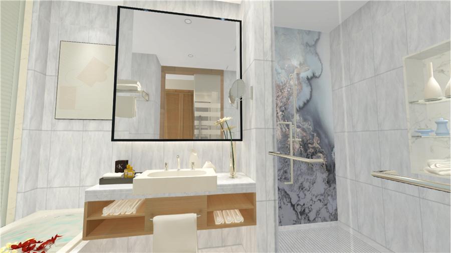 2019年风行的灰色系卫浴空间搭配