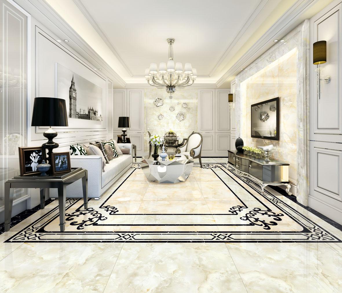 升华陶瓷五彩石瓷砖,演绎家居艺术新风尚!