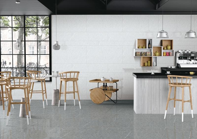 小清新家居style,升华陶瓷通体大理石瓷砖开启一夏好时光!