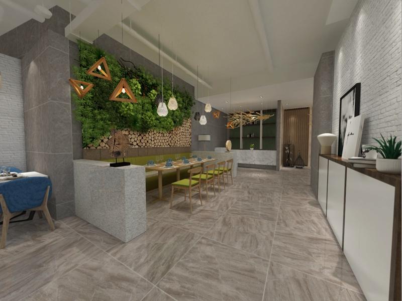 大理石瓷磚在現代生活的華麗展示