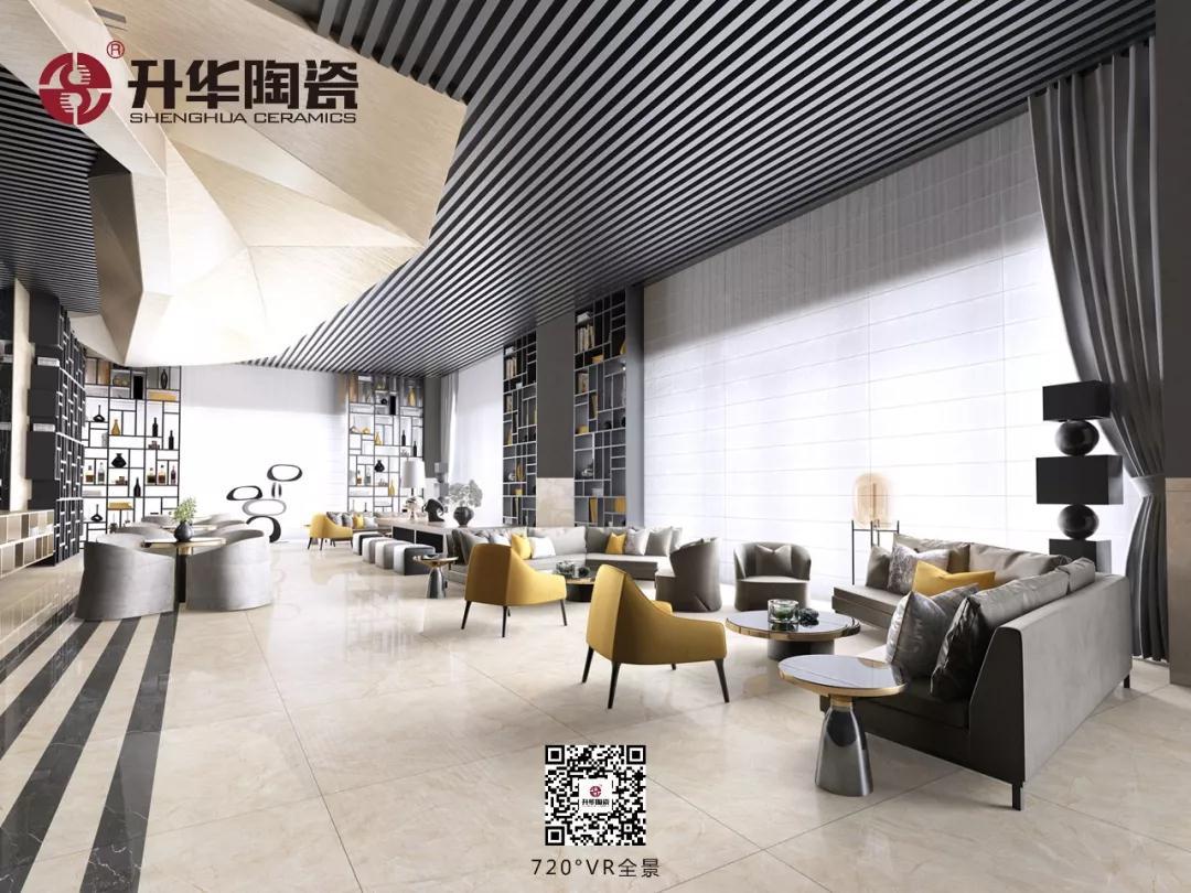 升華陶瓷 | 超平釉系列720°全景空間,這樣的家居倍兒大氣!! !