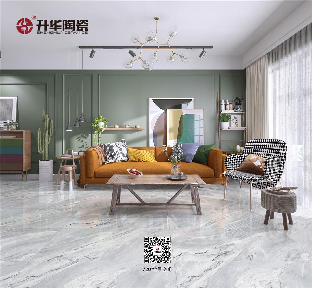升華陶瓷600x1200mm通體大理石瓷磚,都市新貴喜愛的百變大規格!
