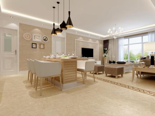 客厅大理石瓷砖——打造质感生活