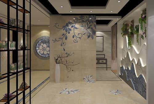 升华陶瓷 | 带你认识新中式瓷砖
