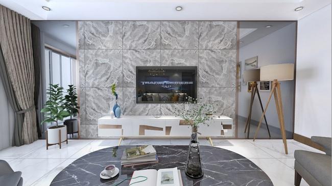 高档瓷砖定制的背景墙,看完后爱了!