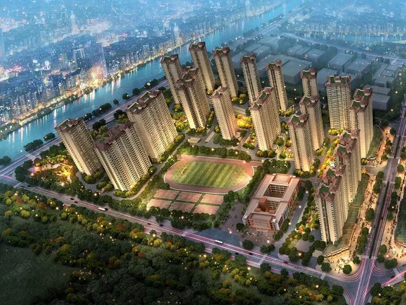 升华陶瓷 | 广东砖广东造:工程案例赏析--广州碧桂园!