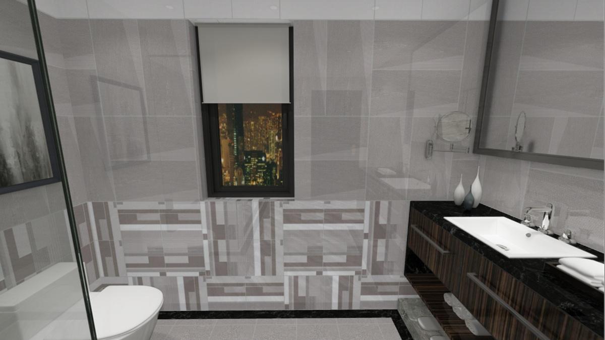 大理石瓷砖现代起来就是这么美