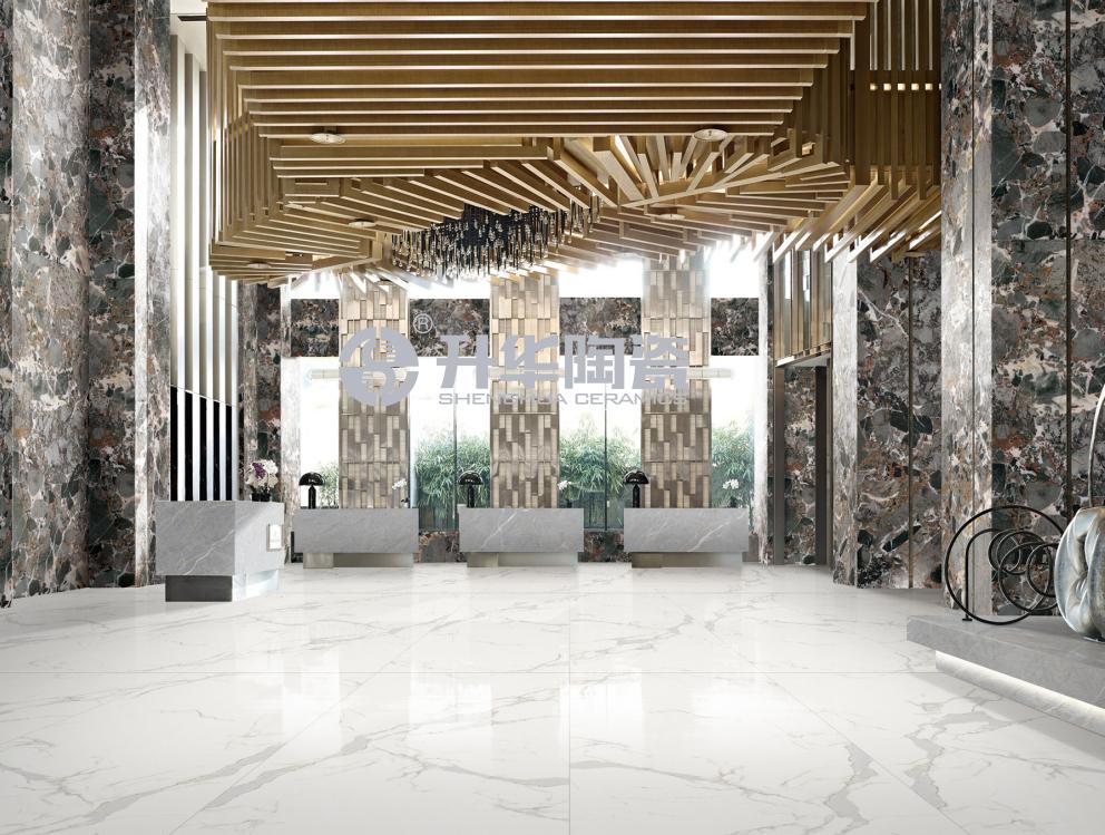 岩板瓷砖的艺术美感