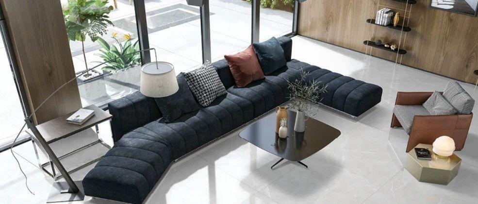 升华陶瓷丨900×1800mm高级灰石艺大板,开启有态度的格调生活!