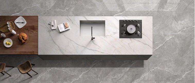 升华陶瓷丨600×1200×15mm岩板,空间颜值一步到位!