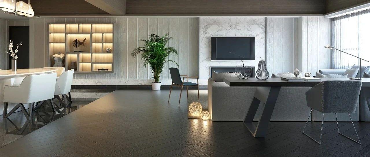 升华陶瓷丨1200×2400×9mm连纹岩板,定制你的高级生活