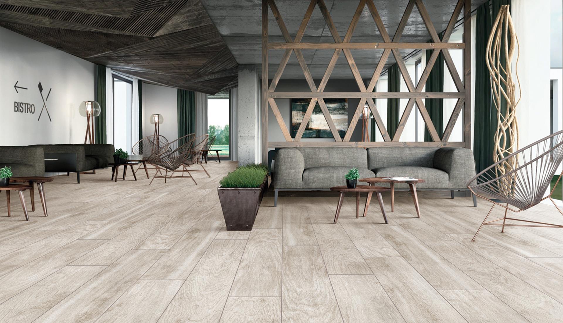 为什么要选择木纹砖做装修材料?