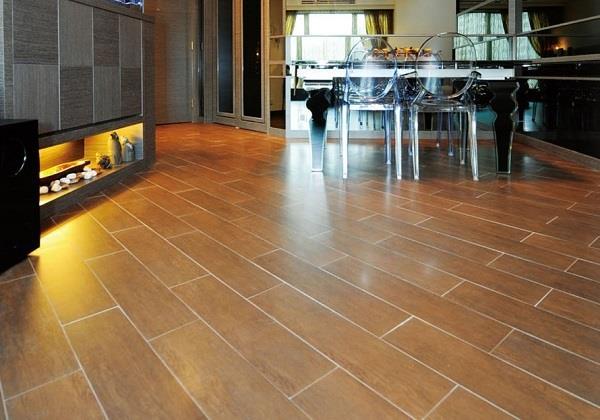 地板和瓷砖的华丽合体——木纹砖