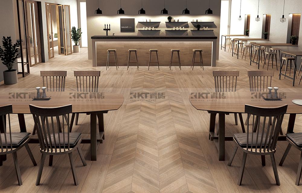 """CDE展商推介KT瓷砖,你身边""""木纹+餐厅""""的搭配专家"""