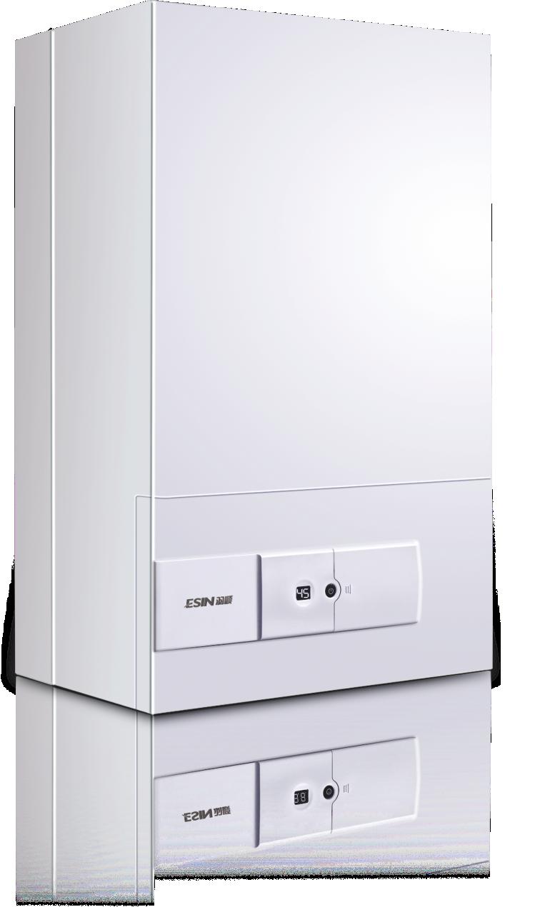 ES05燃气壁挂炉,采暖热水两用型,智能分段燃烧节能技术