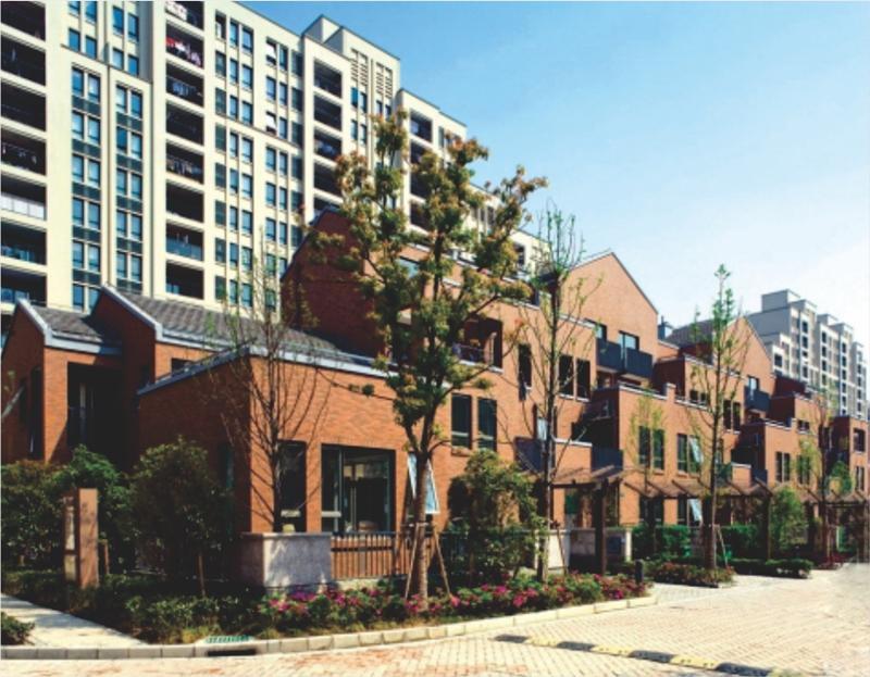 上海万科四季花城家用燃气壁挂炉应用案例效果