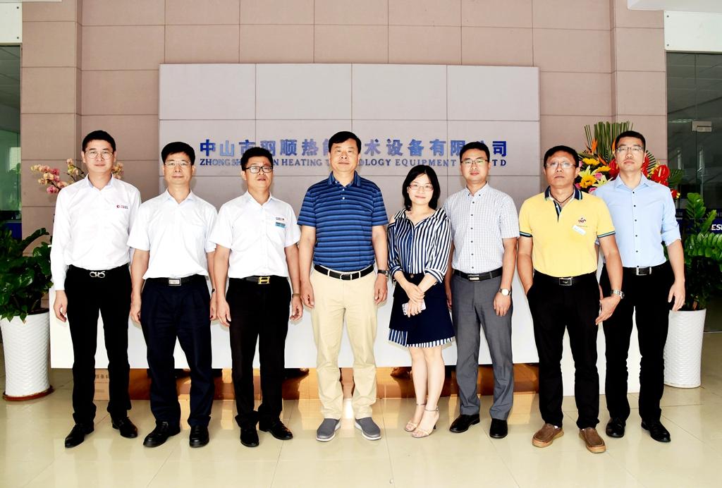 中国燃气集团周永革率高层领导到访羽顺:加强深入对接,催生更多机遇