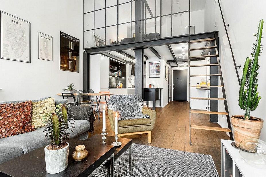 伊米兰格:现代loft新诠释,打造小空间的无限可能