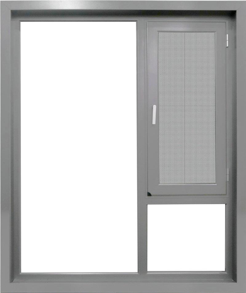 铝合金门窗结构稳定使用寿命长