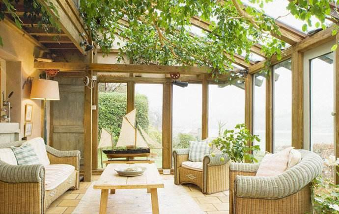 拥抱大自然的阳光房